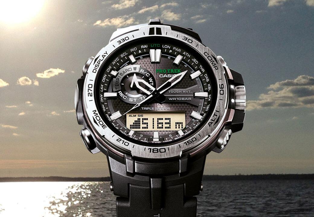PRW-6000-1ER från CASIO är det perfekta fiskeuret