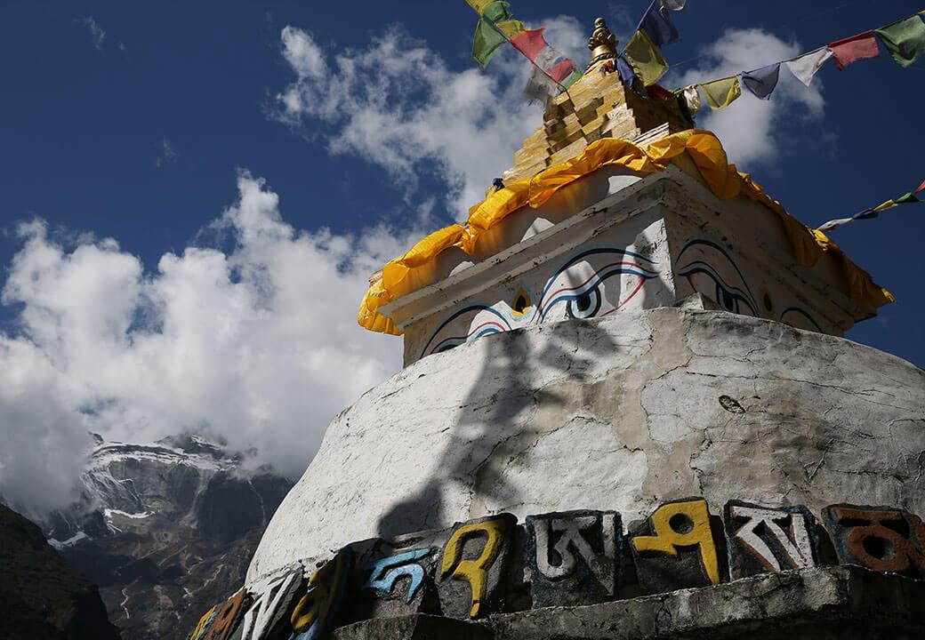 Wandern in Nepal: Sedlmayr war mit der PRO TREK im Himalaya unterwegs