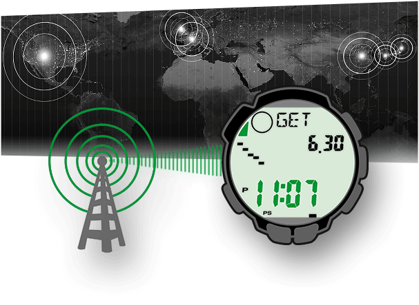 Dankzij de radiogestuurde horlogetechniek geven radiogestuurde horloges van CASIO altijd de exacte plaatselijke tijd aan